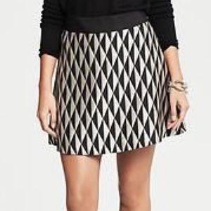BR Monogram | 16 Diamond Jacquard Full Skirt